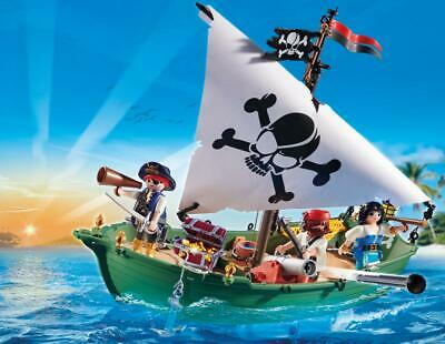 Playmobil 70151 Pirate Ship With Underwater Motor Special Offer Promo Pack