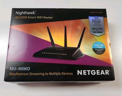 NETGEAR Nighthawk AC2300 Smart Wi-Fi Router (R7000P-100NAS)--