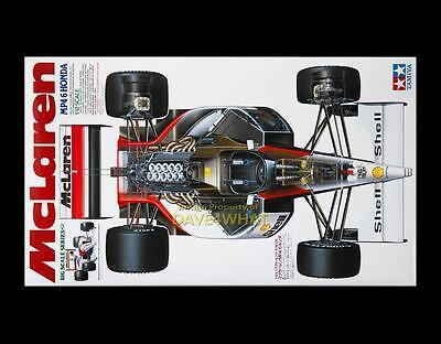 Vintage Tamiya 1/12 MCLAREN MP4/6 HONDA F1 Senna Berger Race Car Kit 12028 MIB