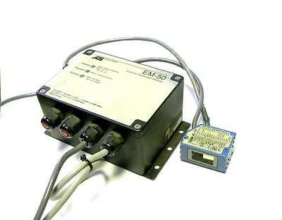 Accu-sort Systems Em-50  Scanner Expansion Module Wbar Code Scanner 10