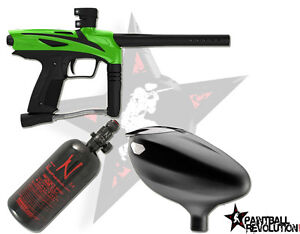 GoG eNMEy Paintball Gun / Marker Beginner Package - Freak Green