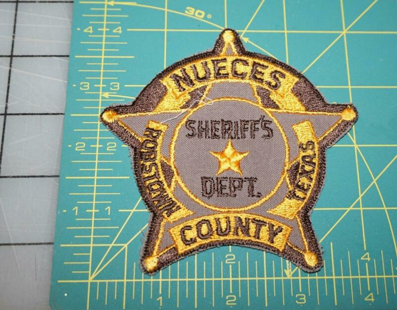 NUECES ROBSTOWN COUNTY TEXAS SHERIFF DEPT. PATCH (501)
