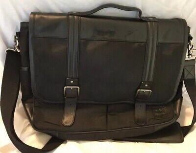 Ike Behar New York Laptop Briefcase Computer Bag Business Case Black Business York Briefcase