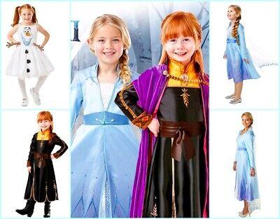 Frozen Die Eiskönigin 2 Prinzessin Kleid  Kostüm Karneval Cosplay - Eis Königin Kostüm Frozen