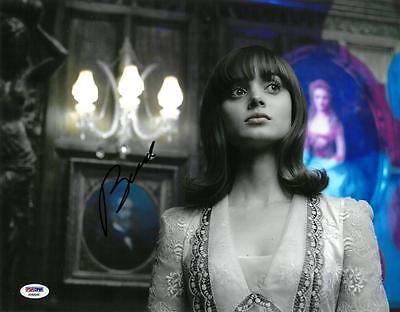 Bella Heathcote Signed Dark Shadows Autographed 11X14 Photo Psa Dna  Ab88906