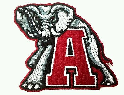 Alabama Crimson Tide Ncaa Football 3 1 8  Embroidered Iron Or Sew On Patch