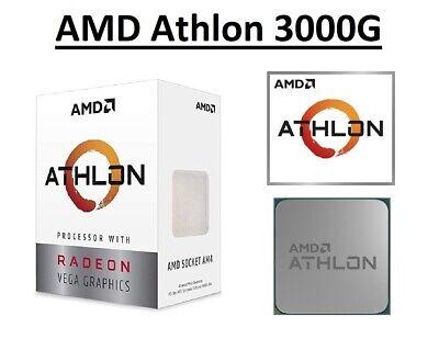 AMD Athlon 3000G Dual Core Processor 3.5 GHz,Socket AM4, 35W CPU