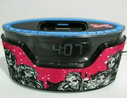 Monster High Alarm Clock Radio and iPod/iPhone Dock 2012 - Tested and Works