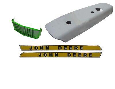 Hood Front Grille Side Panels John Deere 3010 3020 Tractor Gas Or Diesel