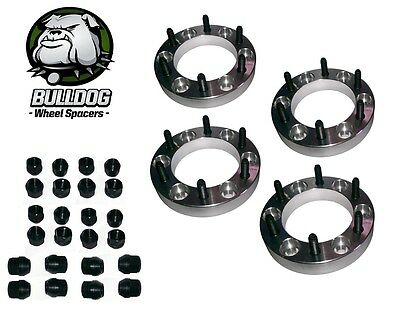 Bulldog Toyota Hilux All MKs Wheel Spacers x 4 30mm Jap 6 Stud fitment
