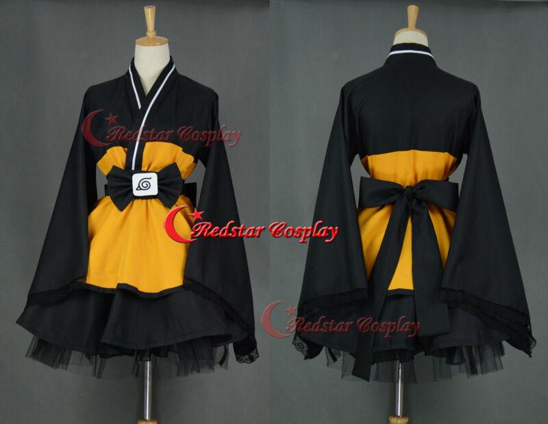 Naruto Kimono Dress from Naruto Cosplay Costume