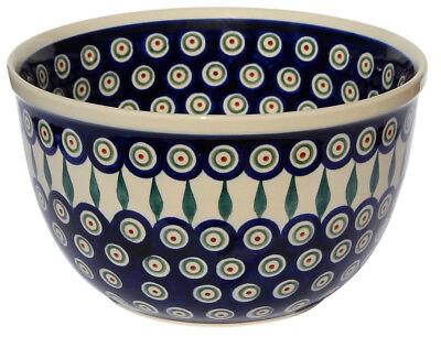 Polish Pottery Mixing Bowl 2 Qt. GU985-1/56 from Zaklady Ceramiczne