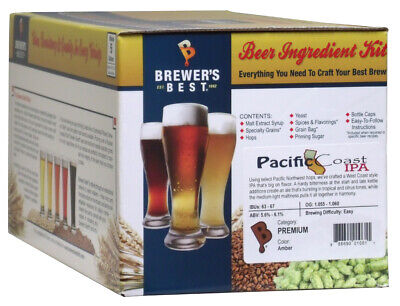 Pacific Coast IPA - Brewer's Best 5 Gallon Beer Making Ingredient