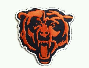 Chicago bears patch football nfl ebay chicago bears nfl 3 18 embroidered iron or sew on patch voltagebd Images