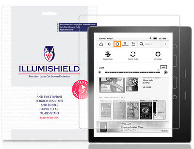 2x iLLumiShield Screen Protector for Amazon Kindle Oasis 7 inch, 2019