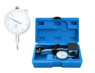 Test Precision Measuring Dial Indicator Gauge Magnetic Base Set 0.01mm