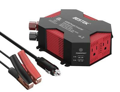 BESTEK Modified Sine Wave Inverter Car Power Inverter 400W Auto Inverter 12v USB