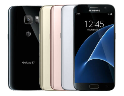 Samsung Galaxy S7 G930A GSM Factory Unlocked 32GB Smartphone - Image Burn