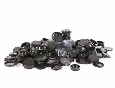 Large lot of assorted Canon body and lens caps genuine EX