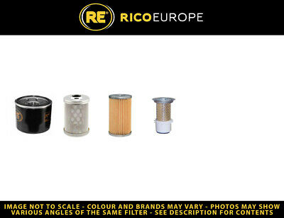 Kobelco - New Holland E9sr Filter Service Kit Air - Oil - Fuel