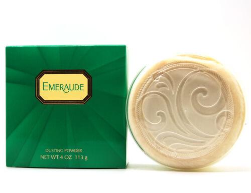 EMERAUDE by Coty 4.0 oz, 113 g Dusting Powder for Women