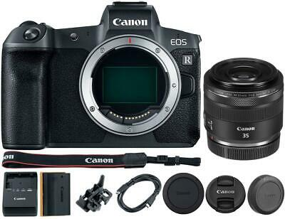 Canon EOS R Mirrorless Digital Camera with 35mm RF Lens