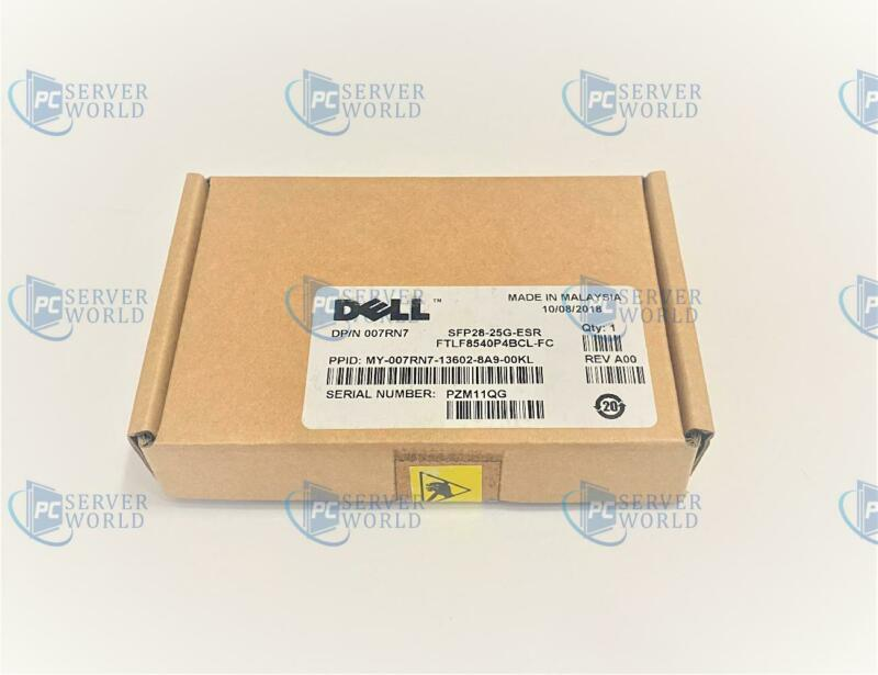 07RN7 DELL SFP28 25GBE 850NM ETHERNET TRANSCEIVER MODULE P7D7R HHHHC