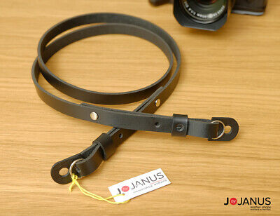 Handmade Adjustable Camera Leather Strap - Leica Fujifilm Sony Olympus Nikon