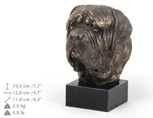 English Mastiff, dog bust marble statue, ArtDog Limited Edition, USA - <span itemprop='availableAtOrFrom'>Zary, Polska</span> - English Mastiff, dog bust marble statue, ArtDog Limited Edition, USA - Zary, Polska