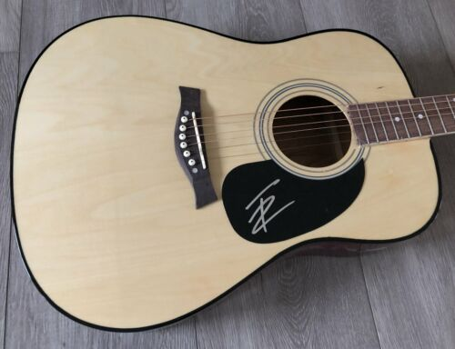 "THOMAS RHETT SIGNED AUTOGRAPH 41"" FULL SIZE ACOUSTIC GUITAR C w/PROOF"