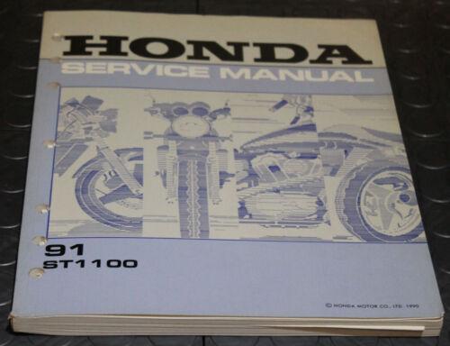 NOS OEM Honda Service Shop Manual NEW 91 ST1100 ST 1100