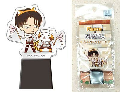Rascal x Attack on Titan Light-Up Stage Levi Ackerman Ver. Kodansha Licensed New