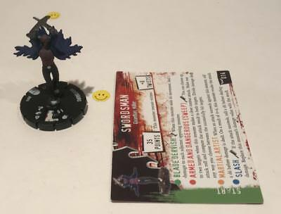 Horrorclix Nightmares Swordsman #014 with Card NEW from Booster Pack