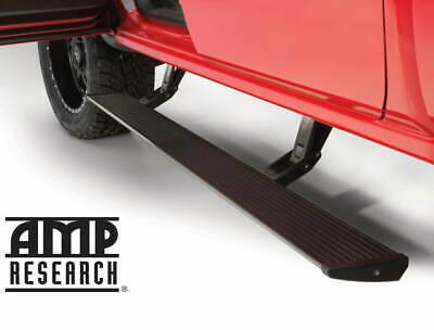 AMP PowerStep Side Step Electric Running Board   2015-16 Sierra Silverado Diesel