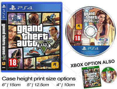Grand Theft Auto V Game GTA5 Cake Topper XBOX or PS4