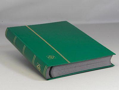 Lighthouse Hardcover Stockbook -64 Pgs.- Green -- LS4/32 -- 30% OFF