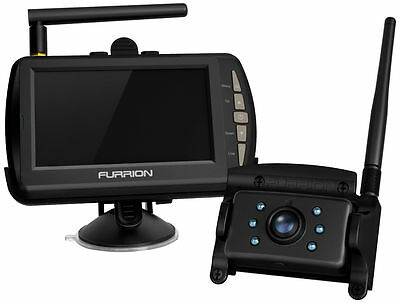 Furrion FOS48TA-BL RV Digital Wireless Observation System (Camera + Monitor)