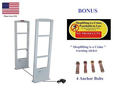 Retail EAS RF Checkpoint Compatible Anti Theft Security Antenna System + BONUS