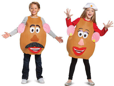 Mr Mrs Potato Head Halloween Costumes (Mr Mrs Potato Head Child Costume Halloween Boys Girls Kids One Size Toy)