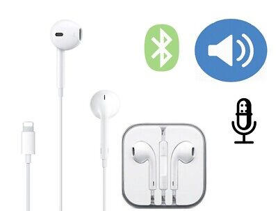 Wired Bluetooth Earphones Headphones For iPhone 11 Pro XR X XS Max 8 7 Plus 6 SE