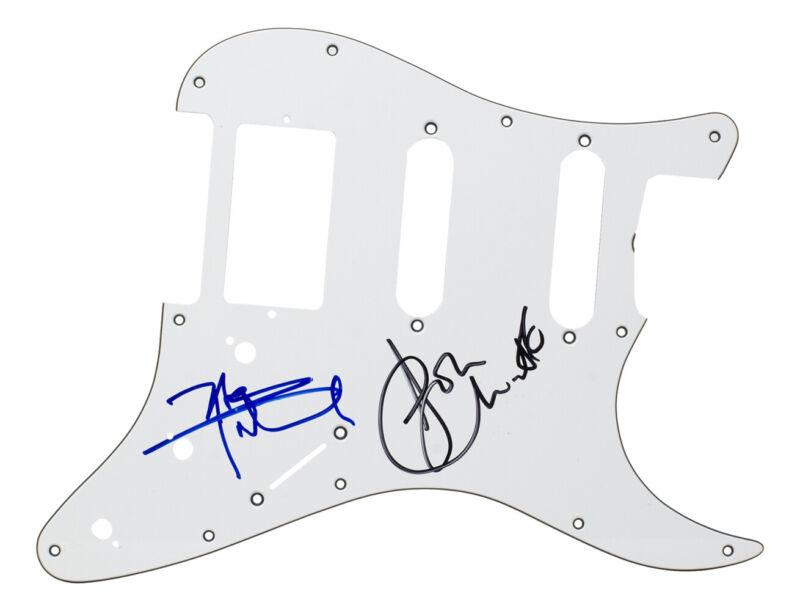 The Who Pete Townshed and John Entwistle Signed Pickguard BAS LOA