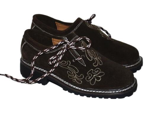 BROWN Leather Shoes Men German Lederhosen Oktoberfest Bavarian 8 9 10 11 12 13