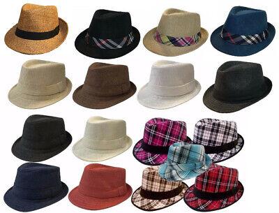 KIDS FEDORA BUCKET BOYS GIRLS HAT Children CAP