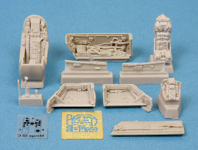 Used, SBS Models 1/48 DASSAULT MIRAGE III DETAIL SET RESIN & PE CONVERSION KIT for sale  USA