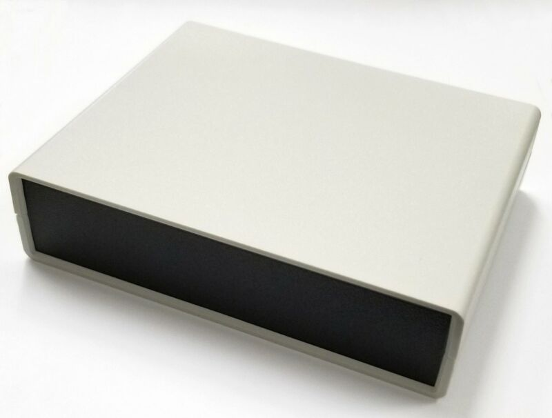 "Rectangular Abs Plastic Desktop Chassis Box, 8.85"" X 6.5"" X 3.54"" 64-g749"