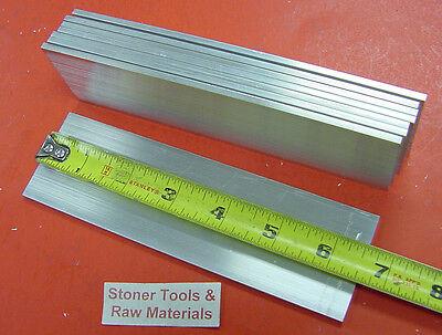 8 Pieces 18 X 2 Aluminum Flat Bar 6-12 Long 6061 T6511 Mill Stock .125
