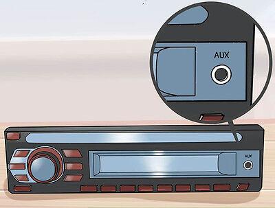 3,5mm Stereo Klinken Audio Klinke AUX Kabel Stecker für iPhone MP3 Auto Handy 2m