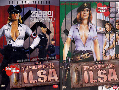 Ilsa: She Wolf of the SS (1975) / Ilsa: The Wicked Warden (1977) /