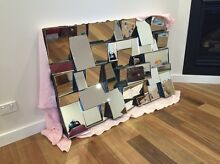 Retro wall mirror - imported - beveled - designer Seaforth Manly Area Preview