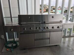 Ziegler and Brown 8 burner BBQ with natural gas conversion Maroubra Eastern Suburbs Preview